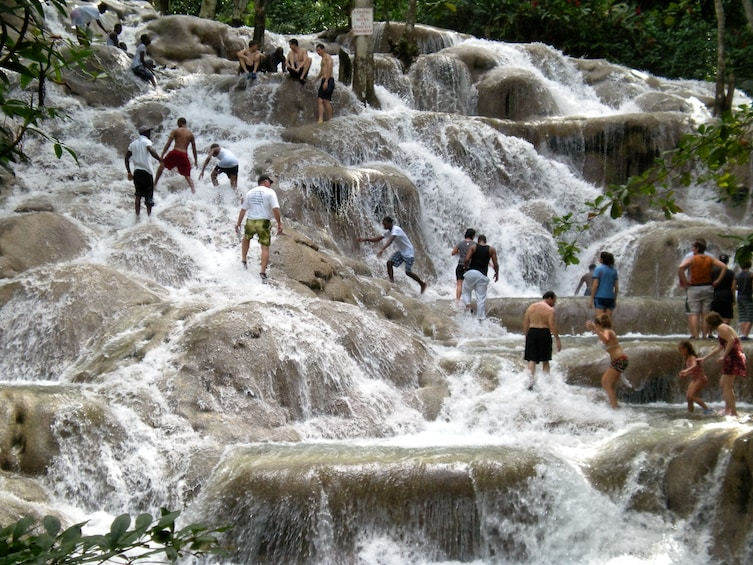 Show item 3 of 8. Dunn's River Falls in Jamaica
