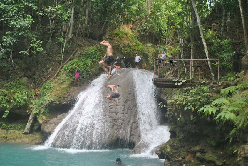 Show item 1 of 8. Full-Day Fun: Blue Hole, Secret Falls & Dunn's River Falls