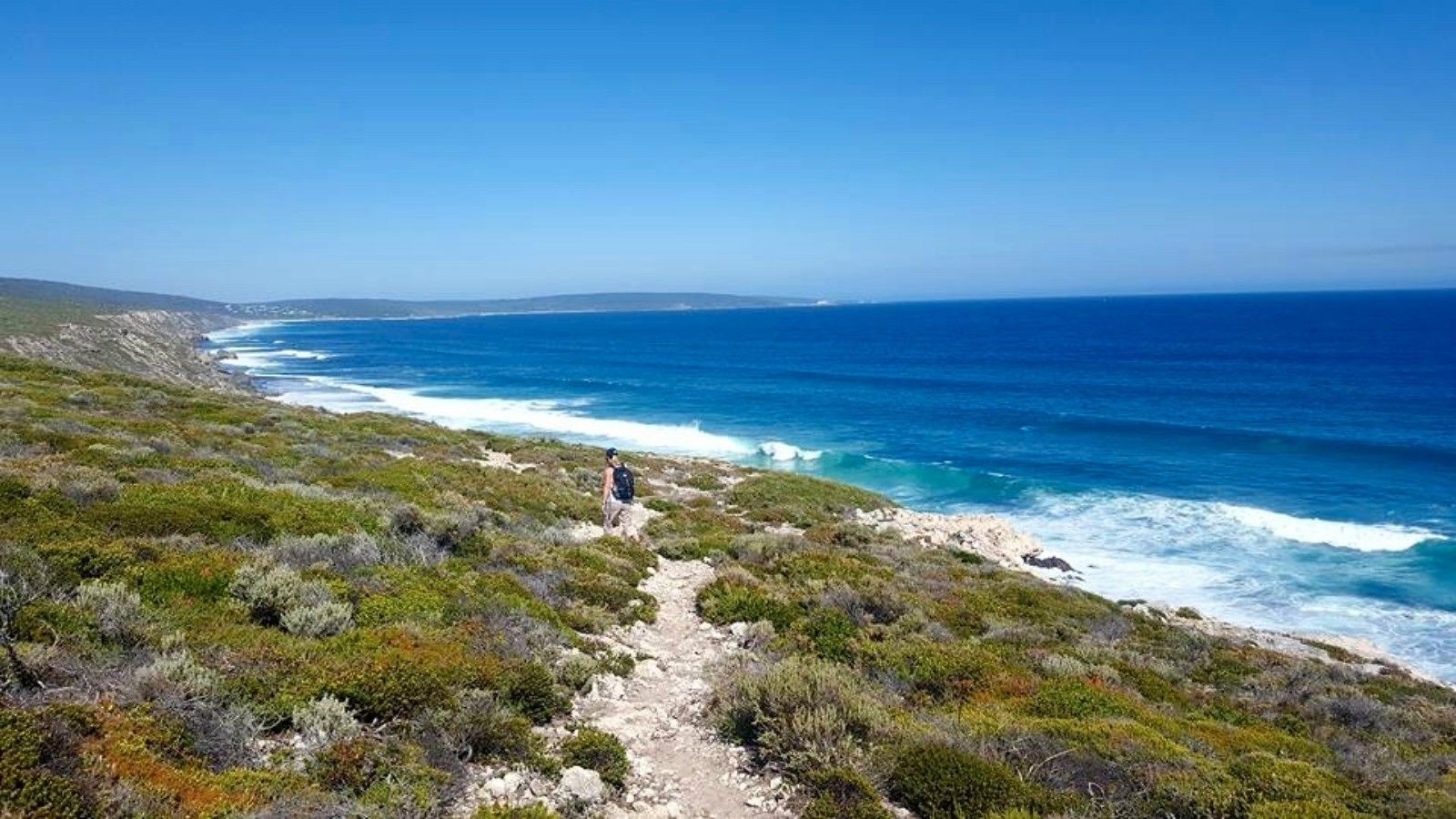 The beach in Margaret River