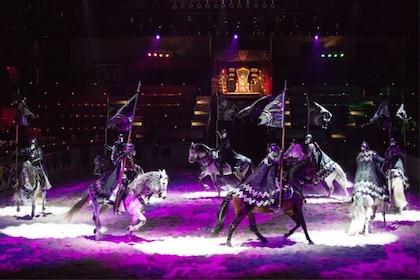 Horses performing at Medieval Times in Atlanta