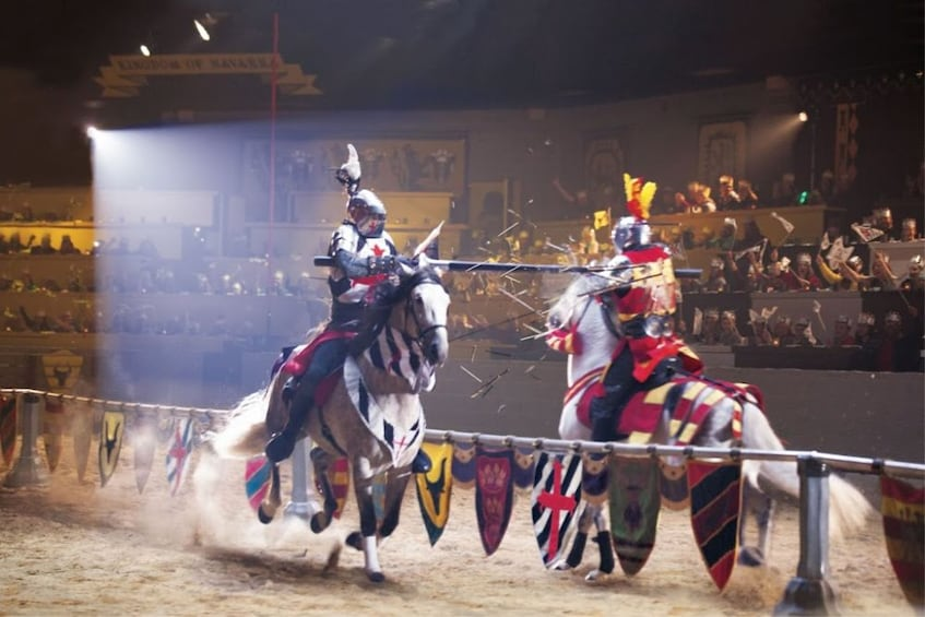 Jousting at Medieval Times in Atlanta