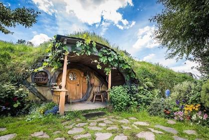 Hobbiton house in New Zealand