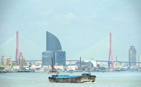 Bridge and waterfront of Shanghai