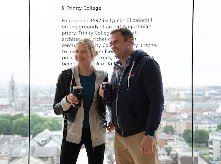 Dublin Hop-On Hop-Off Tour with Guinness Storehouse Option