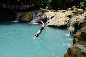 Shore Excursion-Blue Hole plus Secret Falls Adventures