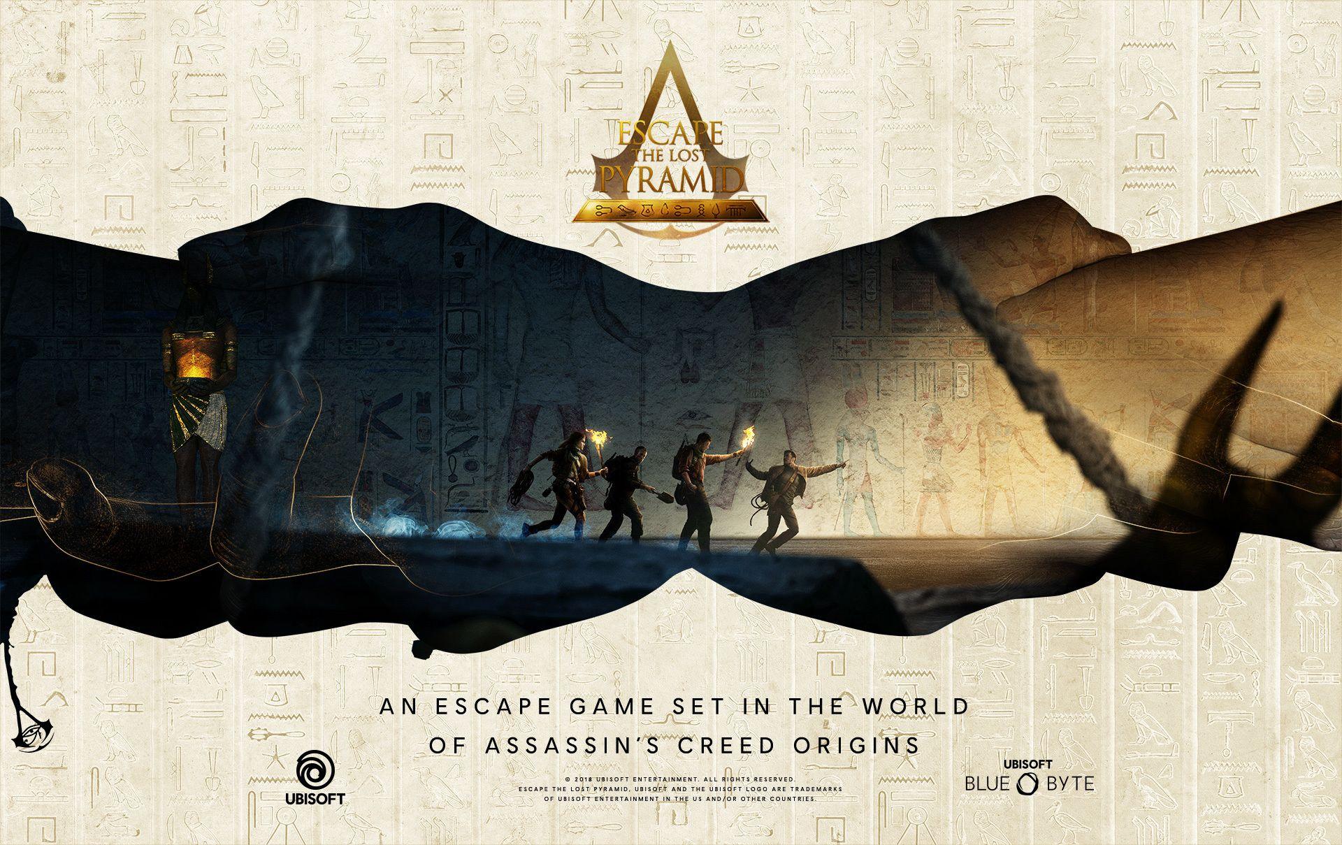 4 Player Escape the Lost Pyramid/Virtual Reality Escape Room