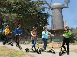 Electric Scooter Golden Gate Park to Ocean Beach Tour
