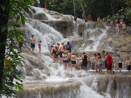 World Famous Dunns River Falls & Shopping Experience
