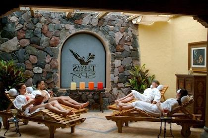 Guests relaxing at the Termas Papallacta spa