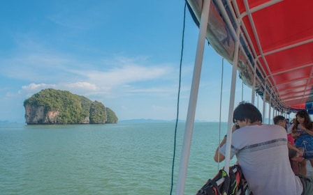 Boat tour of James Bond Island