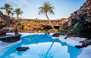 Visit Cueva de Los Verdes or Jameos Del Agua with Transport
