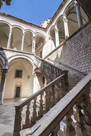 Buildings in a Game of thrones walking experience tour in Dubrovnik