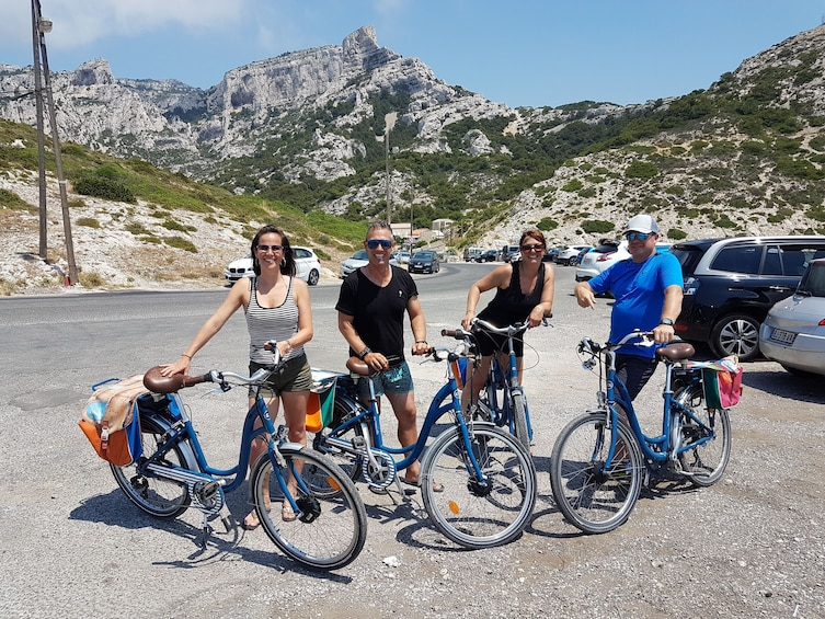 Show item 3 of 6. E-Bike tour from Marseille to Calanques