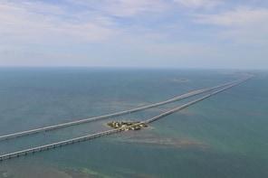 Seven Mile Bridge & Sombrero Key Lighthouse Helicopter Tour