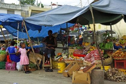 Produce market in Jamaica