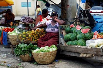 Produce vendor in Jamaica