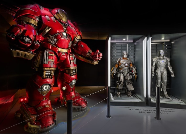 Show item 5 of 5. Hulkbuster suit at the Marvel Avenger's S.T.A.T.I.O.N. exhibit