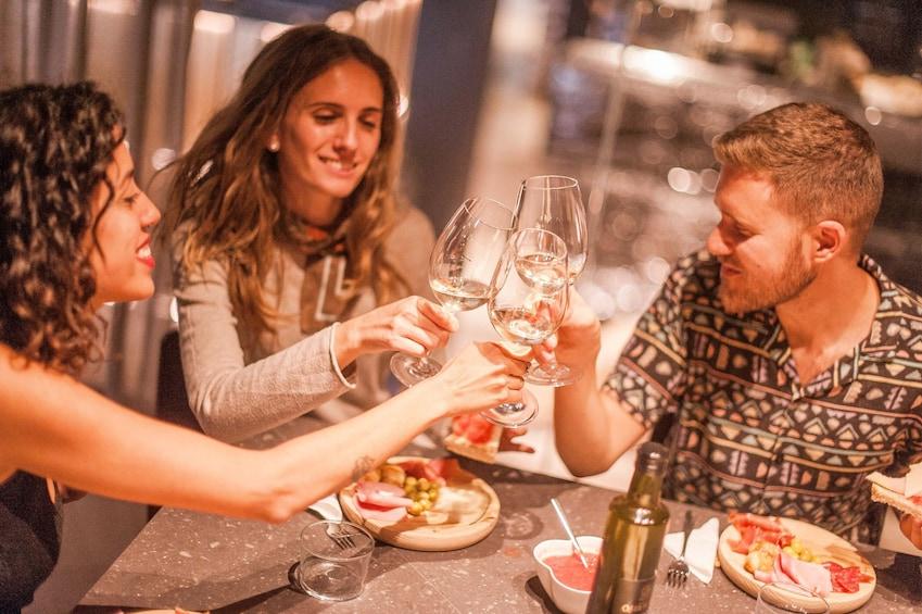 Montserrat Tour + Cogwheel train with Wine Tasting and Tapas