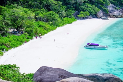 Beach on the Similan Islands in Thailand