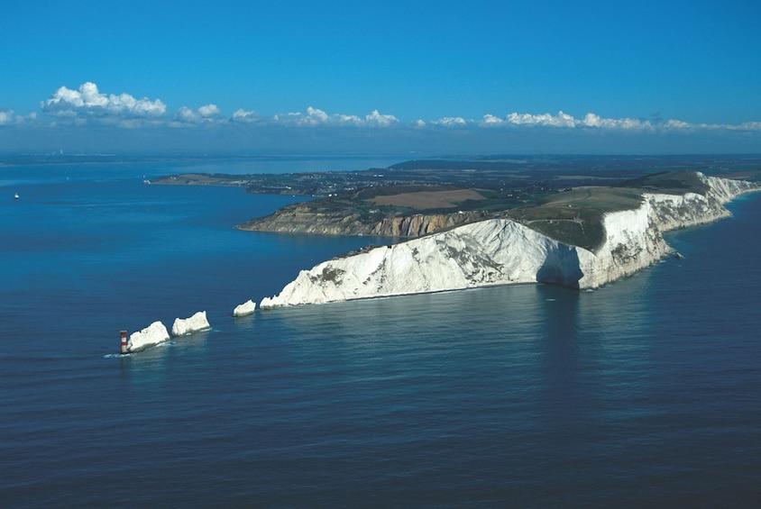 The Needles Landmark Attraction in England