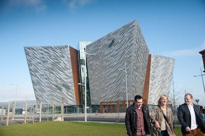 Titanic Experience exterior in Ireland