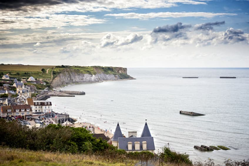 Show item 4 of 4. Privately Guided Normandy Landing Beaches Tour (12 Hours)