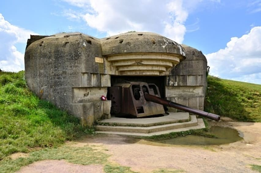 Show item 2 of 4. Privately Guided Normandy Landing Beaches Tour (12 Hours)