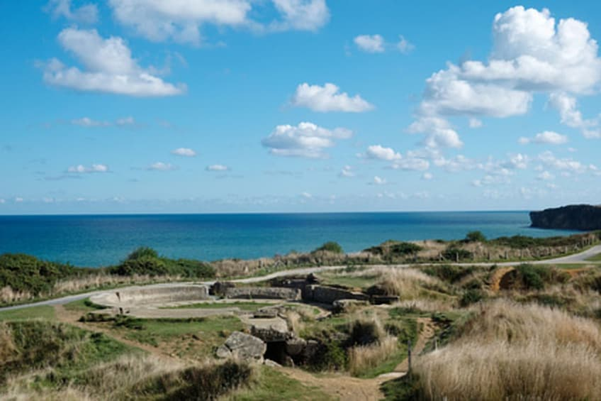 Show item 3 of 4. Privately Guided Normandy Landing Beaches Tour (12 Hours)