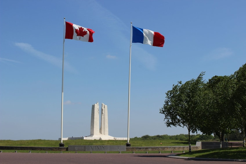 Show item 2 of 10. Transfer Tour from Arras or Lens to Vimy Ridge