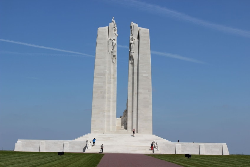 Show item 1 of 10. Transfer Tour from Arras or Lens to Vimy Ridge