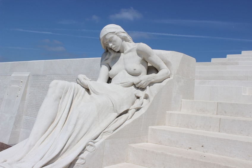 Show item 10 of 10. Transfer Tour from Arras or Lens to Vimy Ridge