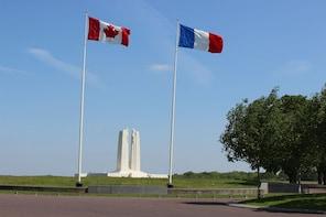 Round Trip transfer from Arras to Vimy Ridge + La Targette
