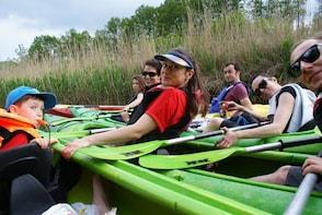 Kayak trip through Kashubian Switzerland