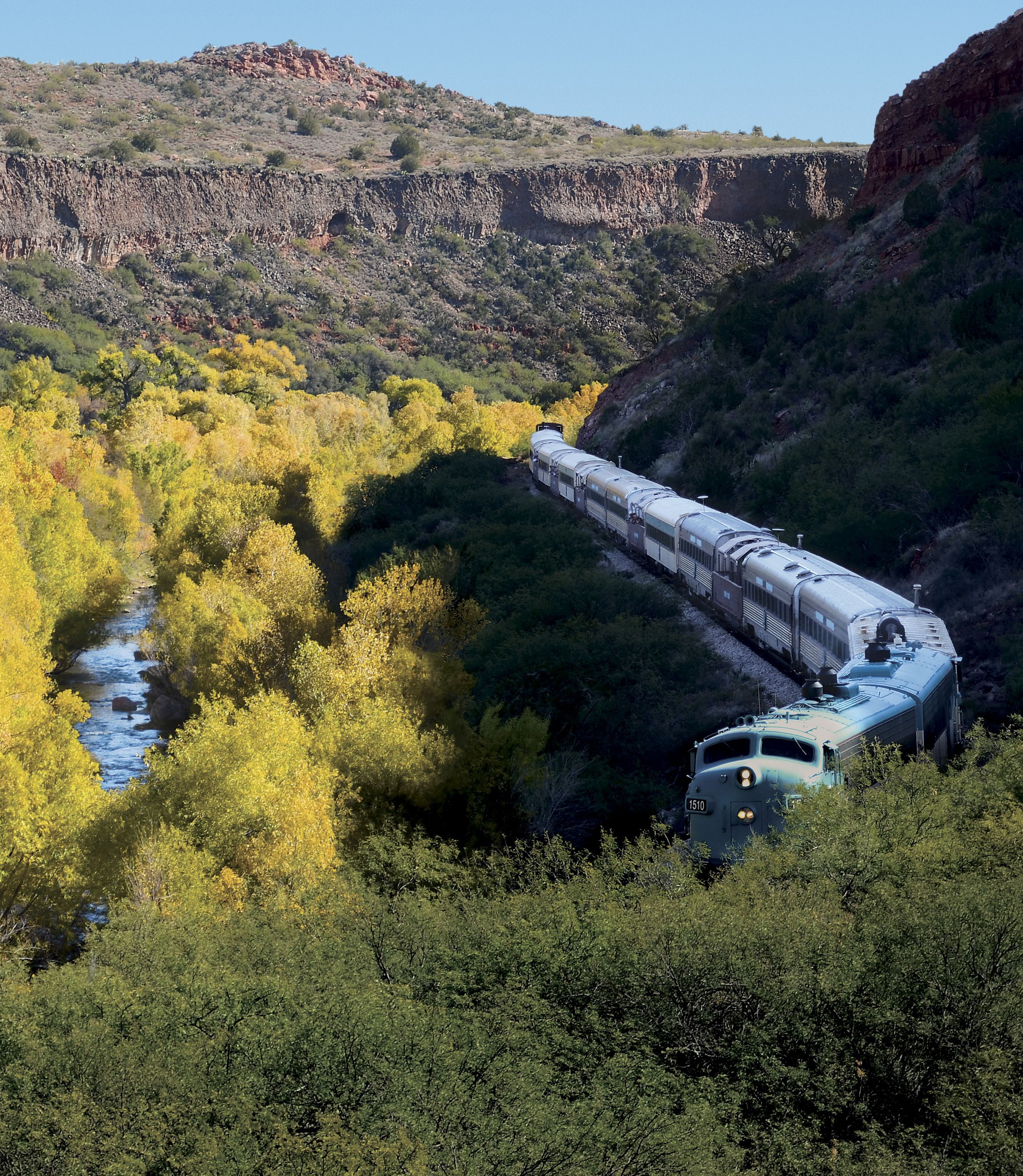 Verde Canyon Railroad, Jerome & Copper Museum Day Tour