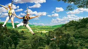 Flying Hanuman Ziplining Adventure