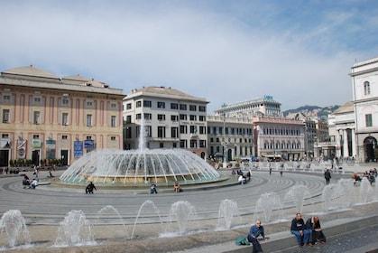Fountain in Genoa