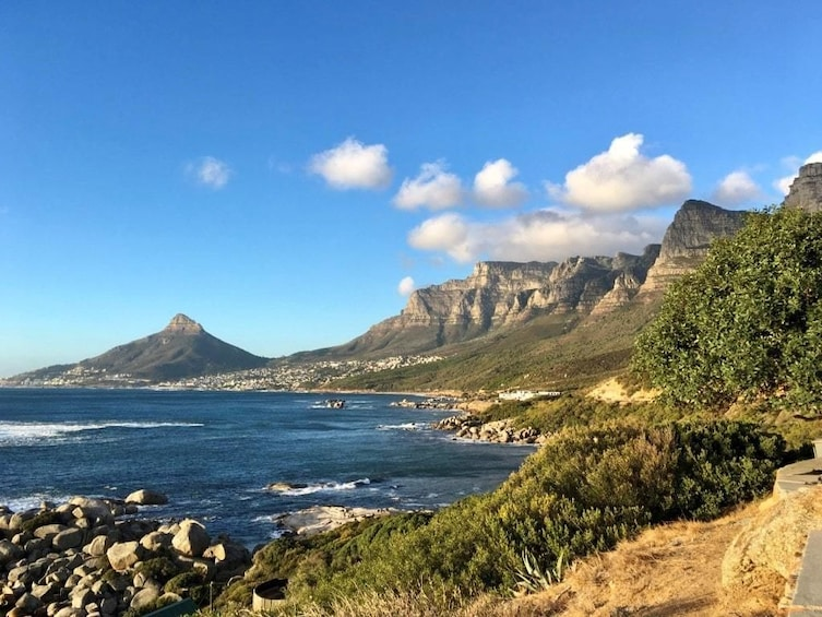 Show item 3 of 6. Mountains and coast of Cape Town