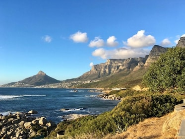 Mountains and coast of Cape Town