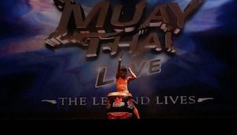 Muay Thai Live - The Legend Lives Show at Asiatique