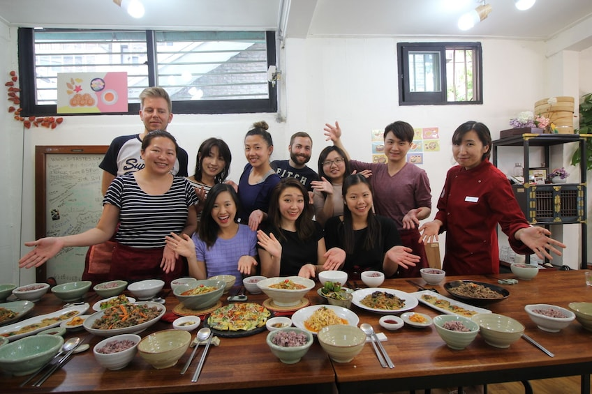 Show item 1 of 7. Korean Home Cooking Class and Exploring Local Market Tour