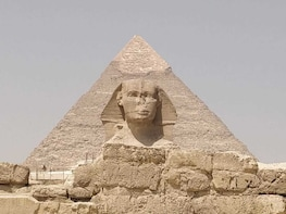 Half Day Tour to Giza Pyramids, Sphinx including camel ride