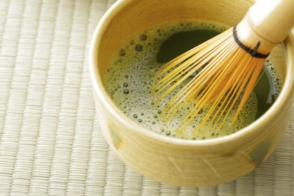 Cup of tea in Kyoto