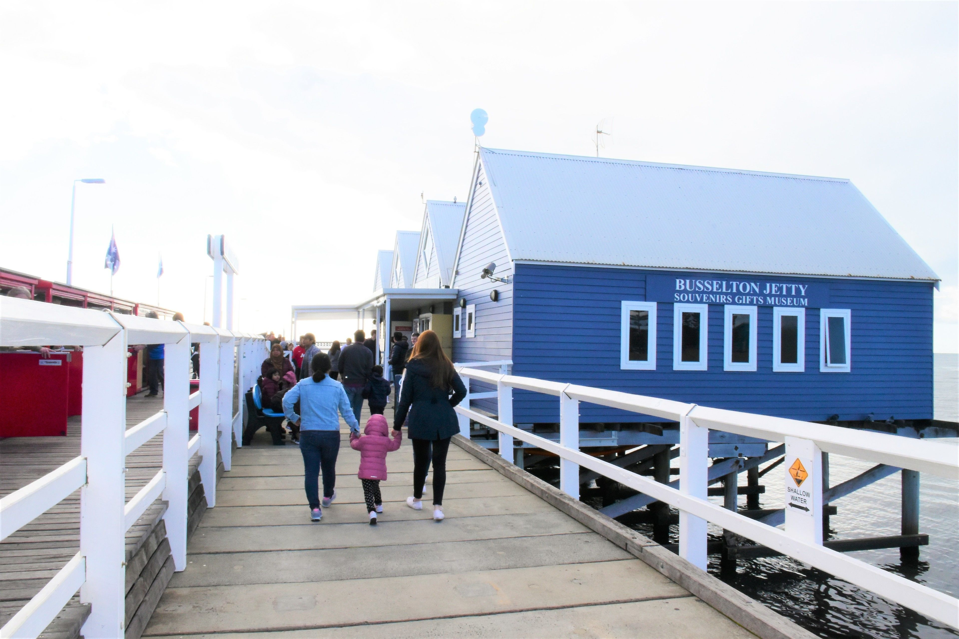 Busselton Jetty souvenirs and gifts museum