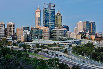 Panoramic view of the city of Perth