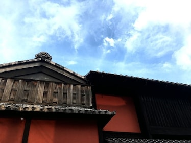 Roof of a building in Kyoto