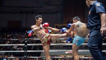 Muay Thai Boxing at Rajadamnern Stadium
