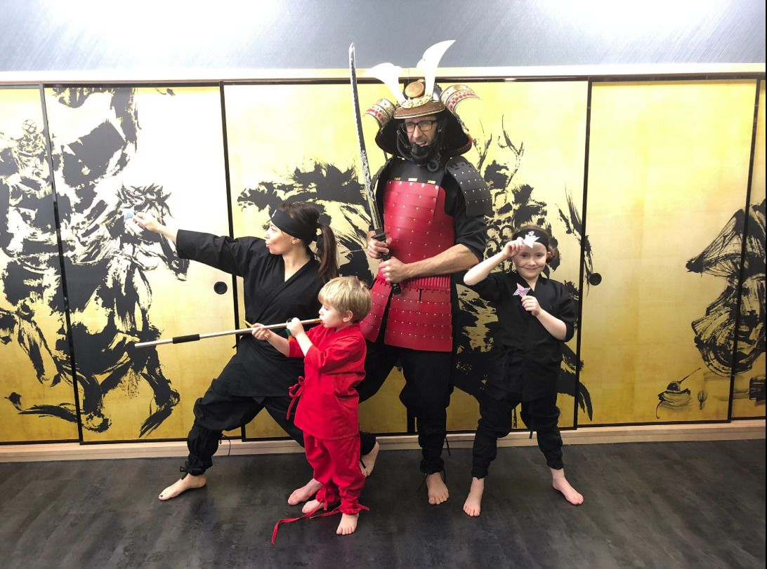 Ninja Experience for Kids and Families in Kyoto