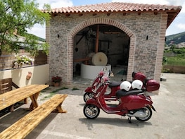 Savour The Flavours Of Corfu Vespa Scooter Tour