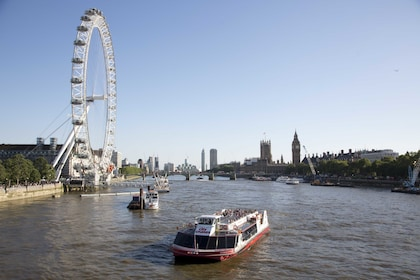 Day view of boats on River Thames