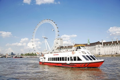 City Cruises boat on River Thames